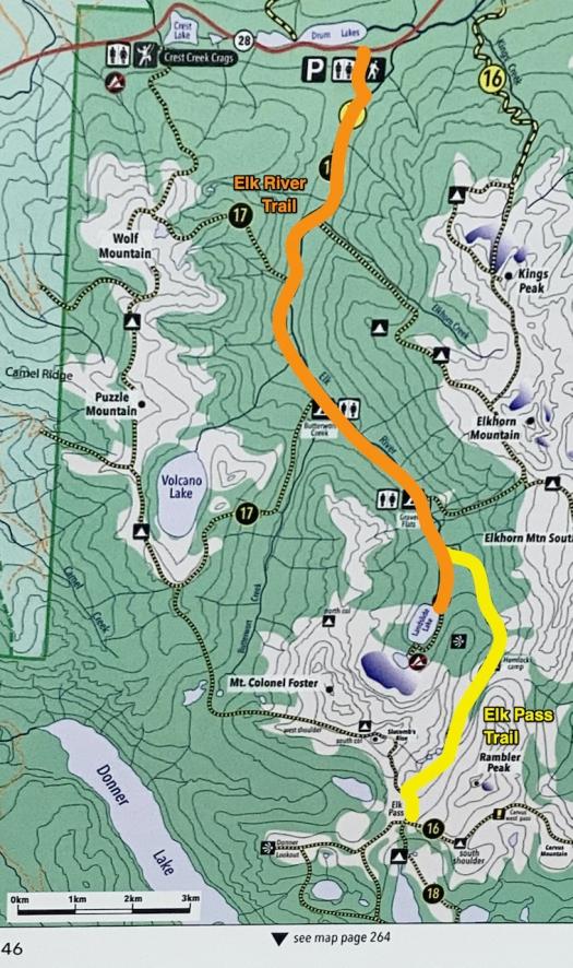 hiking Elk Pass, Strathcona Park B.C. 31