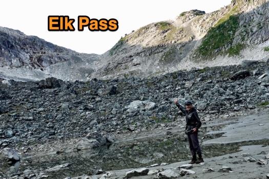 hiking Elk Pass, Strathcona Park B.C. 45