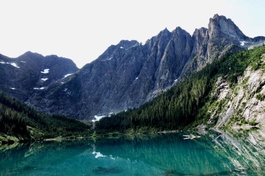 Elk River trail to Landslide Lake, Strathcona Park B.C. 74