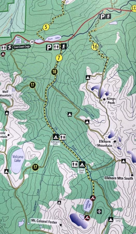 Elk River trail to Landslide Lake, Strathcona Park B.C. 61