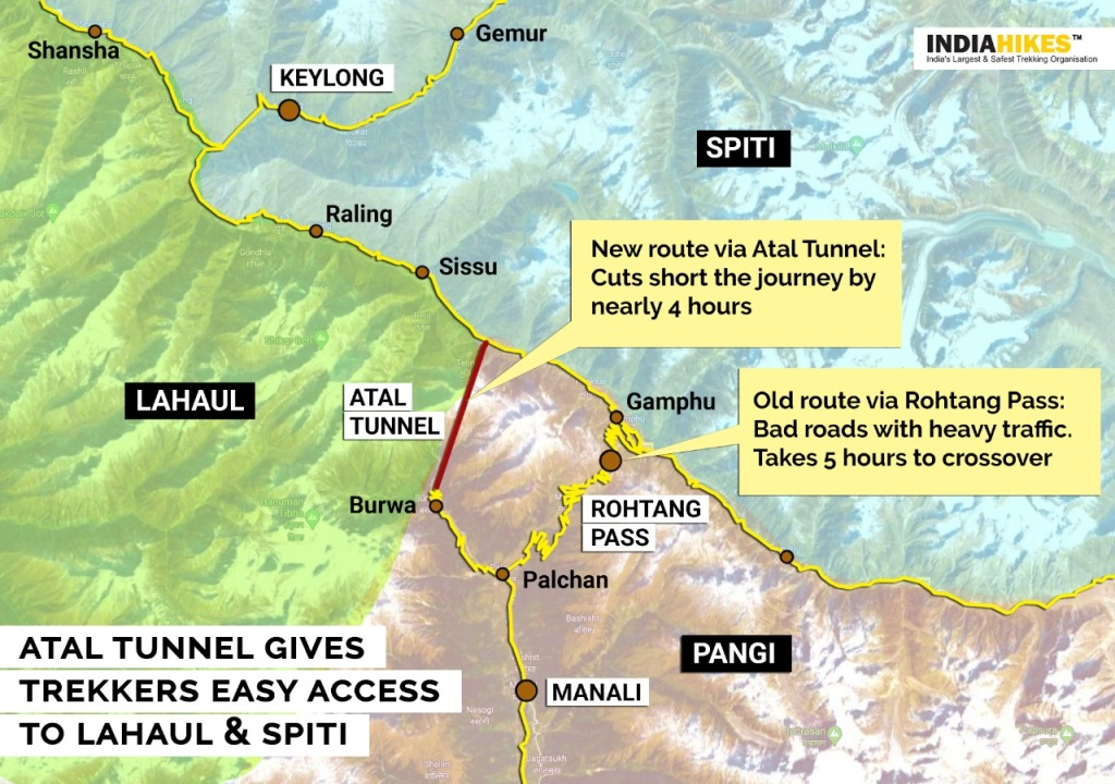 Atal Tunnel opens more Himalayan Hiking 1