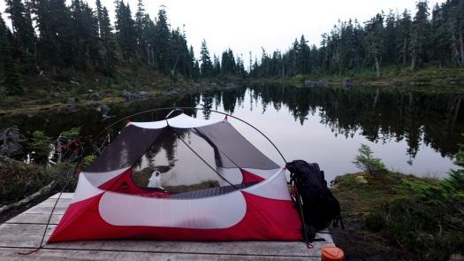 Hiking Castlecrag, Vancouver Island 1