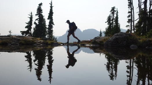 Hiking Castlecrag, Vancouver Island 19