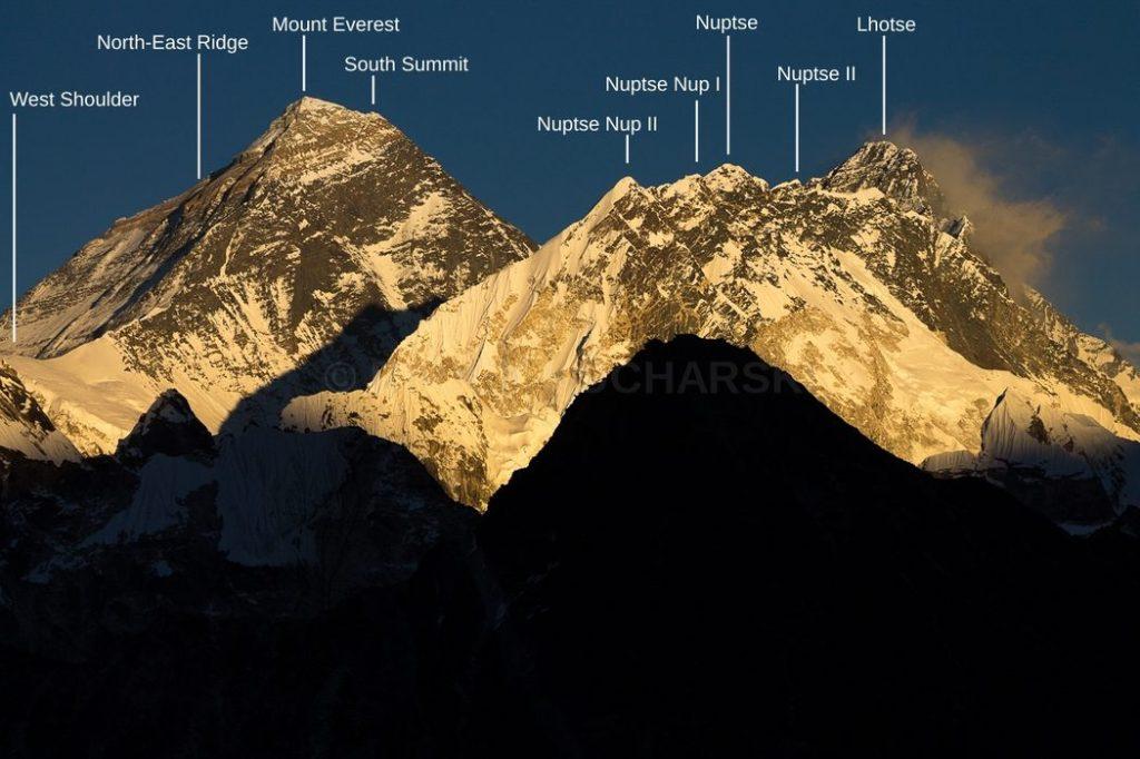 Mountain vistas for Everest trekkers 1