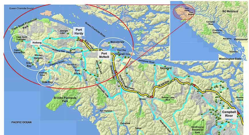 Hiking Vancouver Island North 1