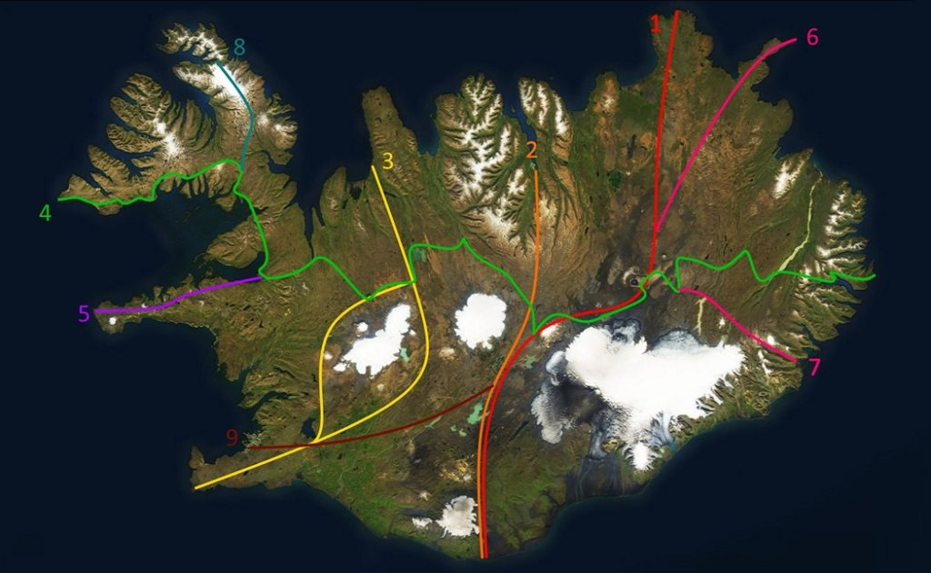 Crossing Iceland on Foot 1